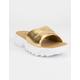 FILA Disruptor Metallic Gold Womens Sandals