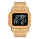 NIXON Regulus Stainless Steel Gold Watch