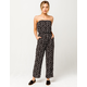 IVY & MAIN Floral Womens Tube Jumpsuit