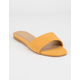 BAMBOO Zest Yellow Womens Sandals