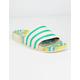 ADIDAS x AriZona Iced Tea Adilette Lemon Womens Slide Sandals