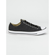 CONVERSE Chuck Taylor All Star Black & White Low Top Shoes