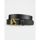 NIXON Icon Cut Out Vegetable Leather Belt