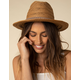 SAN DIEGO HAT CO. Double Knot Tan Fedora