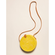 WEST OF MELROSE Aguna Yellow Round Bag