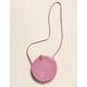 WEST OF MELROSE Aguna Lilac Round Bag