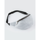 VIOLET RAY Sporty Mesh White Fanny Pack