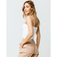 IVY & MAIN Ribbed White Womens Crop Tube Top