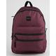 VANS Schoolin' It Burgundy Backpack