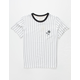 BIRCH BLACK Rose Stripe Boys T-Shirt