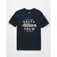 SALTY CREW Paddle Tail Navy Boys T-Shirt