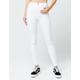 SNEAK PEEK White Womens Skinny Jeans