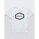 RVCA Hex White Boys T-Shirt