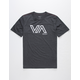 RVCA Stencil VA Black Boys T-Shirt