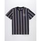 HUF Gramercy Stripe Mens T-Shirt