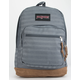 JANSPORT Right Pack Expressions Deep Gray Ombre Herringbone Backpack