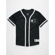 CHAMPION Mesh Black Mens Baseball Jersey