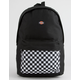 DICKIES Red Label Checkered Black Backpack