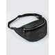 VIOLET RAY Sporty Mesh Black Fanny Pack