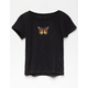 WHITE FAWN Butterfly Girls Tee