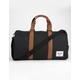 HERSCHEL SUPPLY CO. Novel Black & Tan Duffle Bag