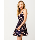 MILEY AND MOLLY Floral Surplice Dress