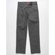 DICKIES Slim Charcoal Boys Chino Pants