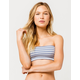FULL TILT Gingham Blue Bandeau