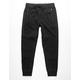 BROOKLYN CLOTH Intertech Side Stripe Black Mens Jogger Pants