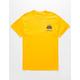 NEON RIOT NASA Apollo 11 Gold Mens T-Shirt