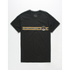 NEON RIOT NASA Apollo Stripe Mens T-Shirt