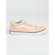 VANS Old Skool Bleached Apricot & True White Girls Shoes