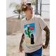 NEON RIOT Coke Cactus Mens Tee
