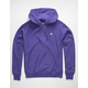 CHAMPION Reverse Weave Purple Mens Hoodie