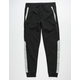 BROOKLYN CLOTH Intertech Black Mens Jogger Pants