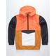 RSQ MC Navy & Orange Mens Anorak Jacket