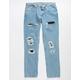 LEVI'S 511 Slim Mens Rip N Repair Jeans