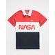 NEON RIOT NASA Mens Polo Shirt