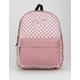 VANS Realm Nostalgia Rose Check Backpack