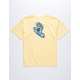SANTA CRUZ Screaming Had Yellow Boys T-Shirt