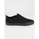LAKAI Riley Hawk 2 Black Canvas Mens Shoes