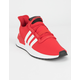 ADIDAS U_Path Run Scarlet & Cloud White Shoes