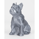 CANDELLANA Bulldog Low Poly Steel Candle