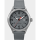 TIMEX Waterbury Traditional 40mm Leather Strap Stainless Steel & Gray Watch