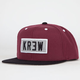 KR3W Locker Patch Mens Snapback Hat
