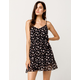 IVY & MAIN Floral Belted Dress