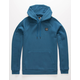 UNDER ARMOUR Rival Blue Mens Hoodie