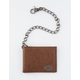 DICKIES Slimfold Tan Chain Wallet