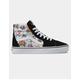 VANS Garden Floral Sk8-Hi True White Womens Shoes