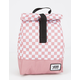 VANS Mow Pink Checkerboard Lunch Bag